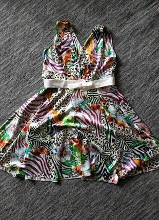 Нарядное шёлковое платье для беременных