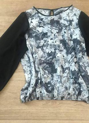 Модные вещи для пышных дам.блуза с интересной спинкой.