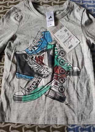 Новая футболка с длинным рукавом, лонгслив,реглан,свитшот