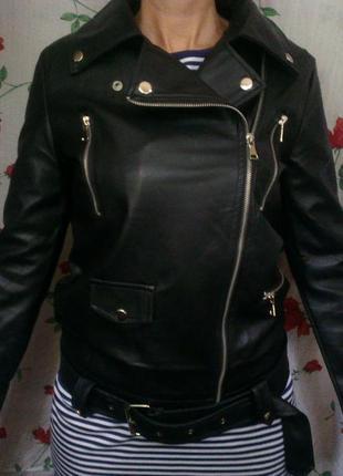 Куртка искусственная кожа