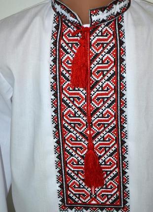 Вишиванка вышиванка сорочка з вишивкою для хлопчика 8 років2 фото