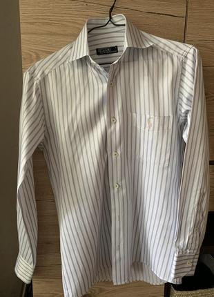 Винтажная рубашка ralph laurent с мужского плеча