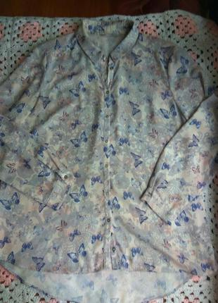 Красивая летняя блузка george