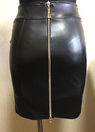 Юбка для худої дівчини з високою талією