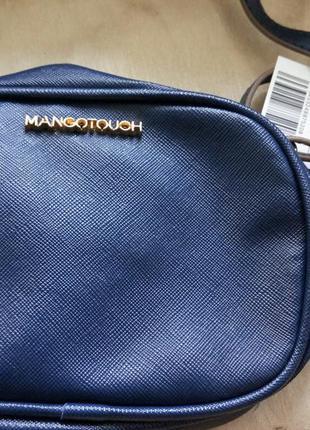 Женская сумка(клатч) синяя манго mango Mango dbb52fed911ef