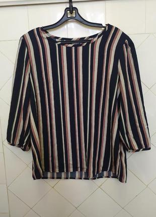 Франция. jacqueline de youg. блуза классического покроя. р 38
