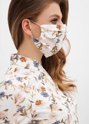 Многоразовые двухслойные маски разных цветов