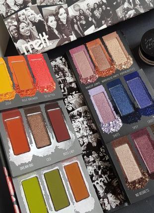 Палетка теней от melt cosmetics impulsive palette + подарок