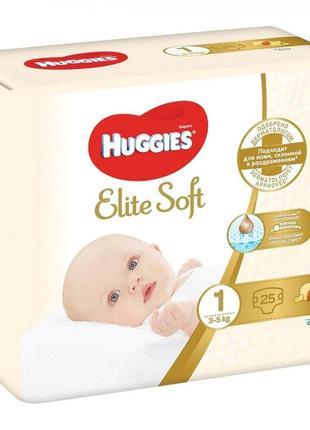 Памперсы huggies elite soft 1 25 штук