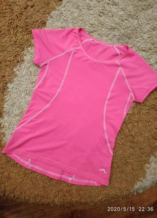 Спортивная неоновая футболка h&m на 10-12 лет