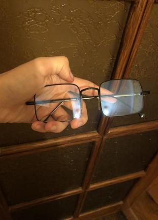 Стильные очки, защитные, антиблик, для компьютера,компьютерные,для телефона, квадратные