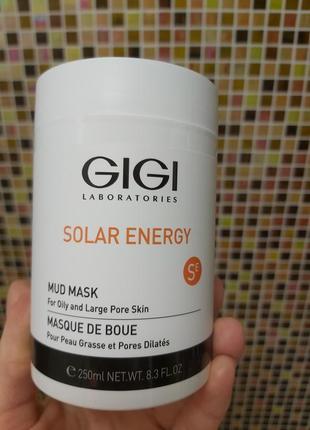 Грязевая маска для лица gigi solar mud mask for oily skin