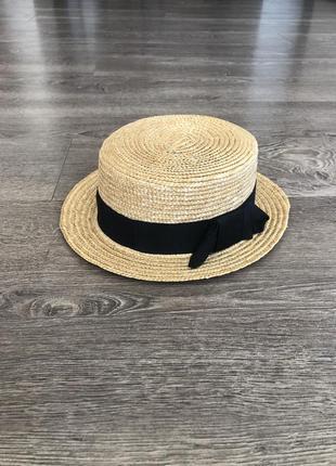 Канотье шляпка