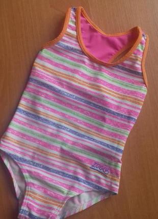 Оригинальный яркий купальник для девочки 2-3 лет.