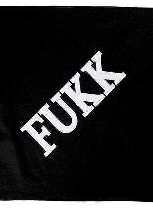 "Бандана ""fukk"" bandana хип хоп стиль фирменная вещь"