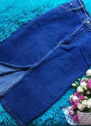 Джинсовая юбка look trend fashion jeans
