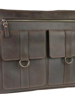 Чоловіча шкіряна сумка smg1(40)