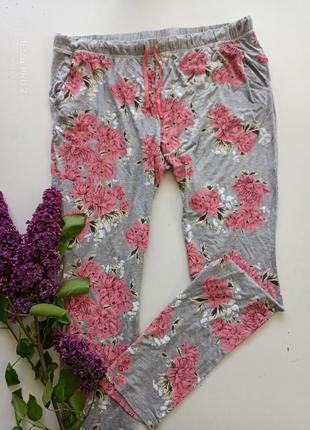 Классние пижамние домашние штани от немецкого бренда esmara, хл