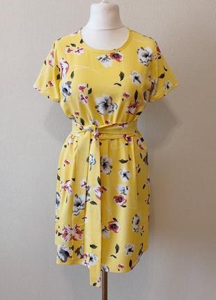 Очень красивое летнее платье из льна льняное платье