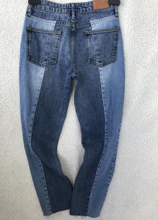 Комбинированные джинсы в идеале s6 фото