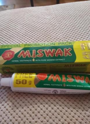 Miswak зубная паста египет