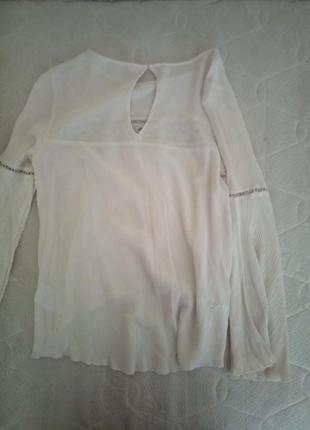 Невероятно нежная белая блузка