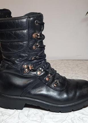 Кожаные сапоги,ботинки,берцы special force