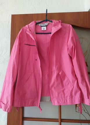 Ветровка columbia xs s или 44 розовая