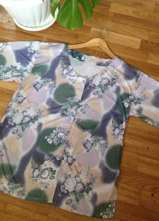 Весенняя распродажа 🌸🌿 легкая повседневная блуза свободного кроя