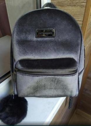 Продам шикарный велюровый или бархатный рюкзак от pierre cardin