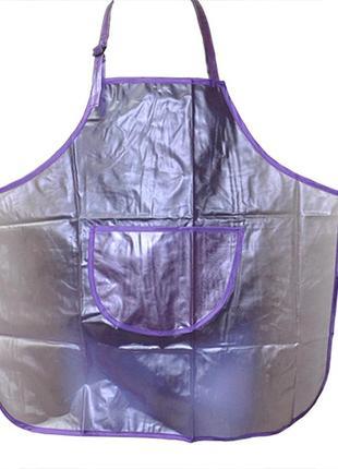 Фартук для покраски фиолетовый1 фото