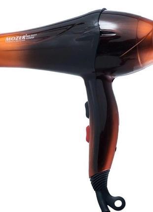 Профессиональный фен для волос mozer mz-5917, 4000w