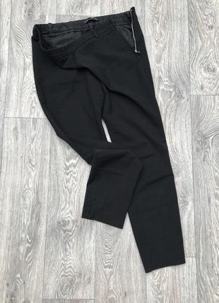 Чёрные брюки / штаны zara