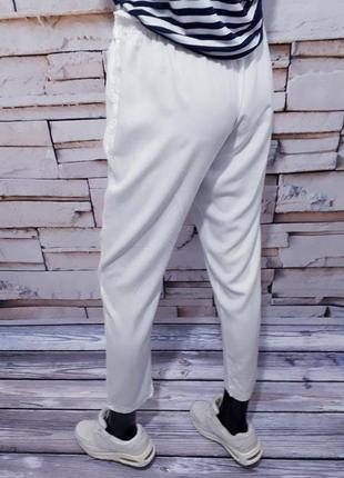 Белоснежные брюки штаны италия  / зауженные/3 фото