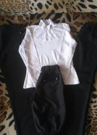 Пакет одежды для школы на девочку