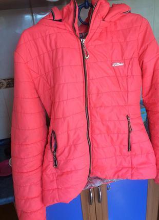 Куртка приталенная турция размер s-m