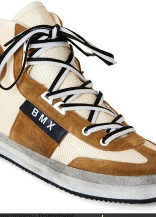 Leather crown итальянские кроссовки 43 размер1 фото