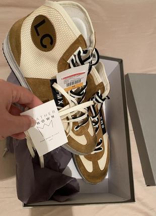 Leather crown итальянские кроссовки 43 размер3 фото