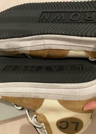 Leather crown итальянские кроссовки 43 размер5 фото