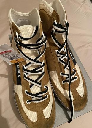 Leather crown итальянские кроссовки 43 размер8 фото