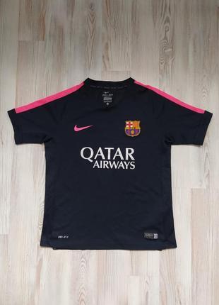 Детская спортивная футболка nike dri fit 10-12лет