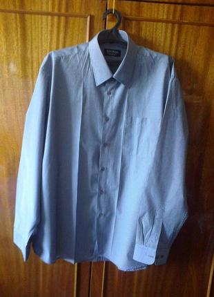 Мужская рубашка новая хлопок батал размер  наш 56-58 китай