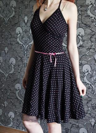 Платье в стиле ретро, кукольное платье, милое платье