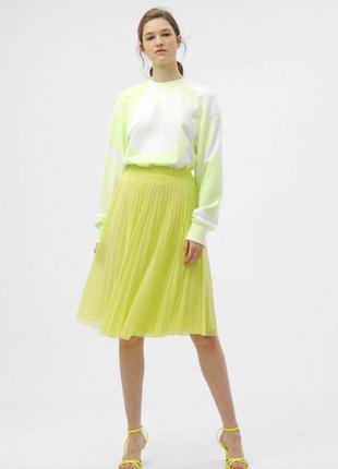 Невероятно красивая плиссированная юбка от bershka.