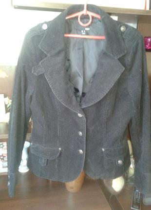 Пиджак вельветовый, жакет,   h&m
