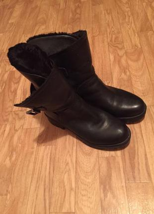 Зимние ботинки guess