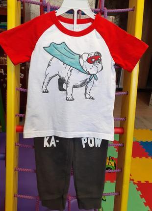 Набор костюм штаны футболка carter's 3т 3 года 98-104