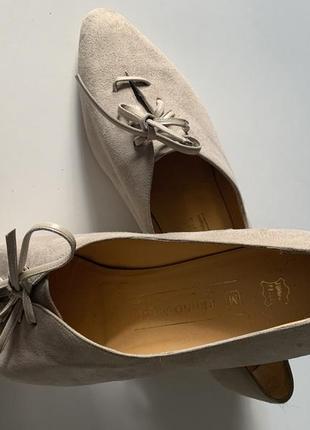 Туфли новые замшевые люкс бренда италия  bruno magli 40-41