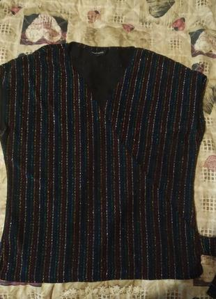 Блуза з люрексом