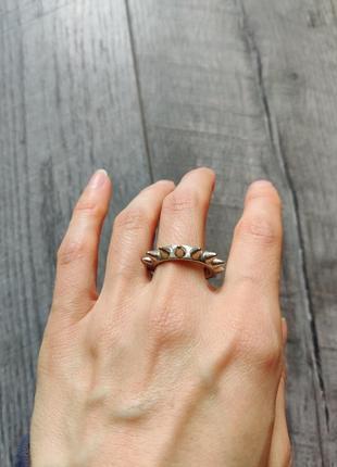 Стильные кольцо с шипами  cos